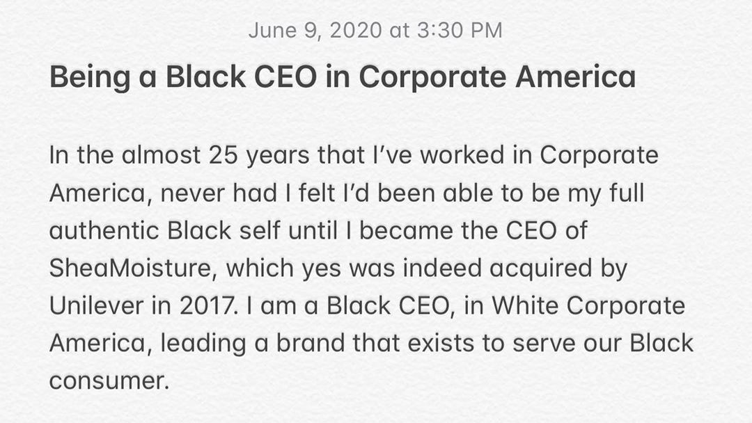 Our CEO Said What She Said - And we STAN! Read the full memo here: instagram.com/p/CBOiiYgnmg0/