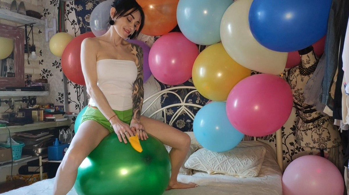 Blowing Up And Humping Balloons