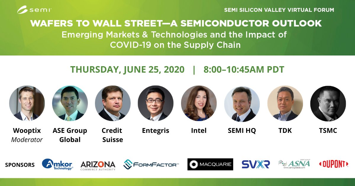 Get Latest Insights—Hear industry & Wall Street experts discuss market outlook, emerging technology trends, COVID-19 impacts, and more. Register Now 👉 https://t.co/GX27IDClH8 https://t.co/sbdEaBaQWF
