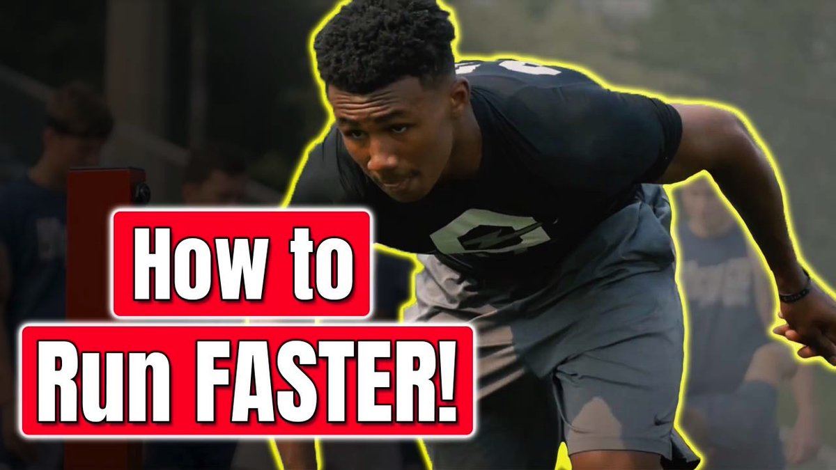 Who else wants a faster 40 time?? Click below for video on how to drop your time with these simple exercises! https://www.youtube.com/watch?v=pmAp9SoQU1A… #Speed #40yarddash #Fast #Power #Football #Athletepic.twitter.com/hCTwiqC9Xh