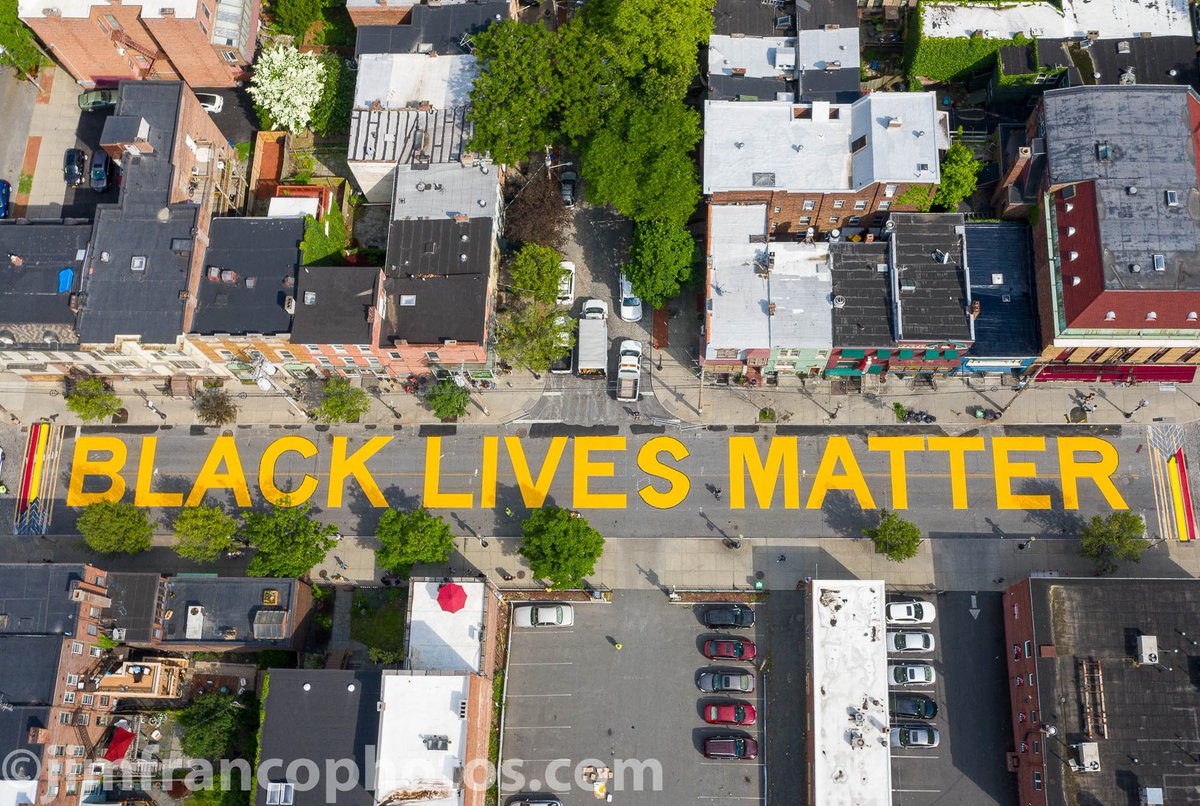 #BlackLivesMattter painted on Lark Street in Albany NY #larkstreet #albanyny #mavicpro2<br>http://pic.twitter.com/tRcWusavV5