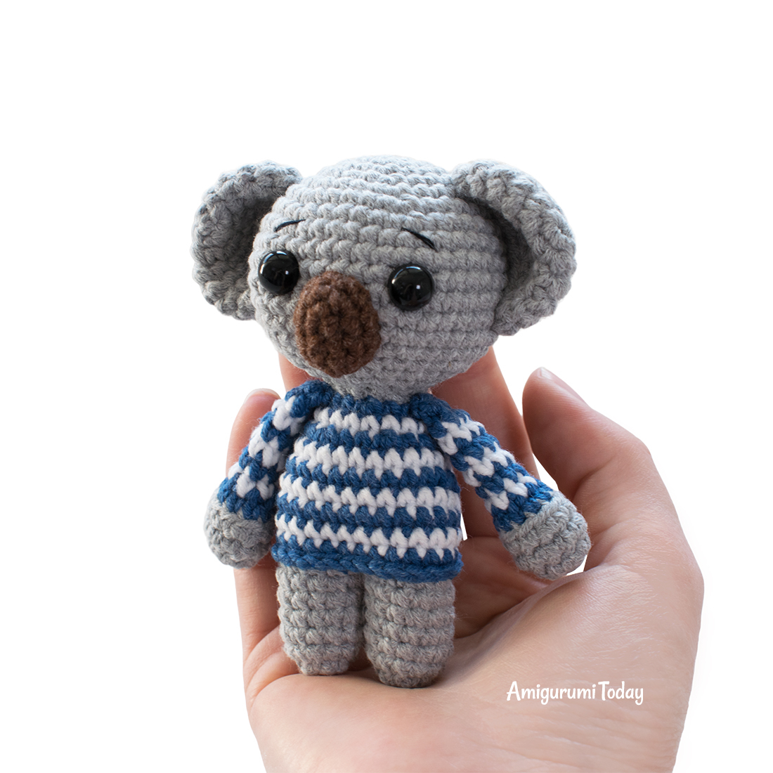 Sheep keychain – free crochet pattern - Amigurumi Today | 1100x1100