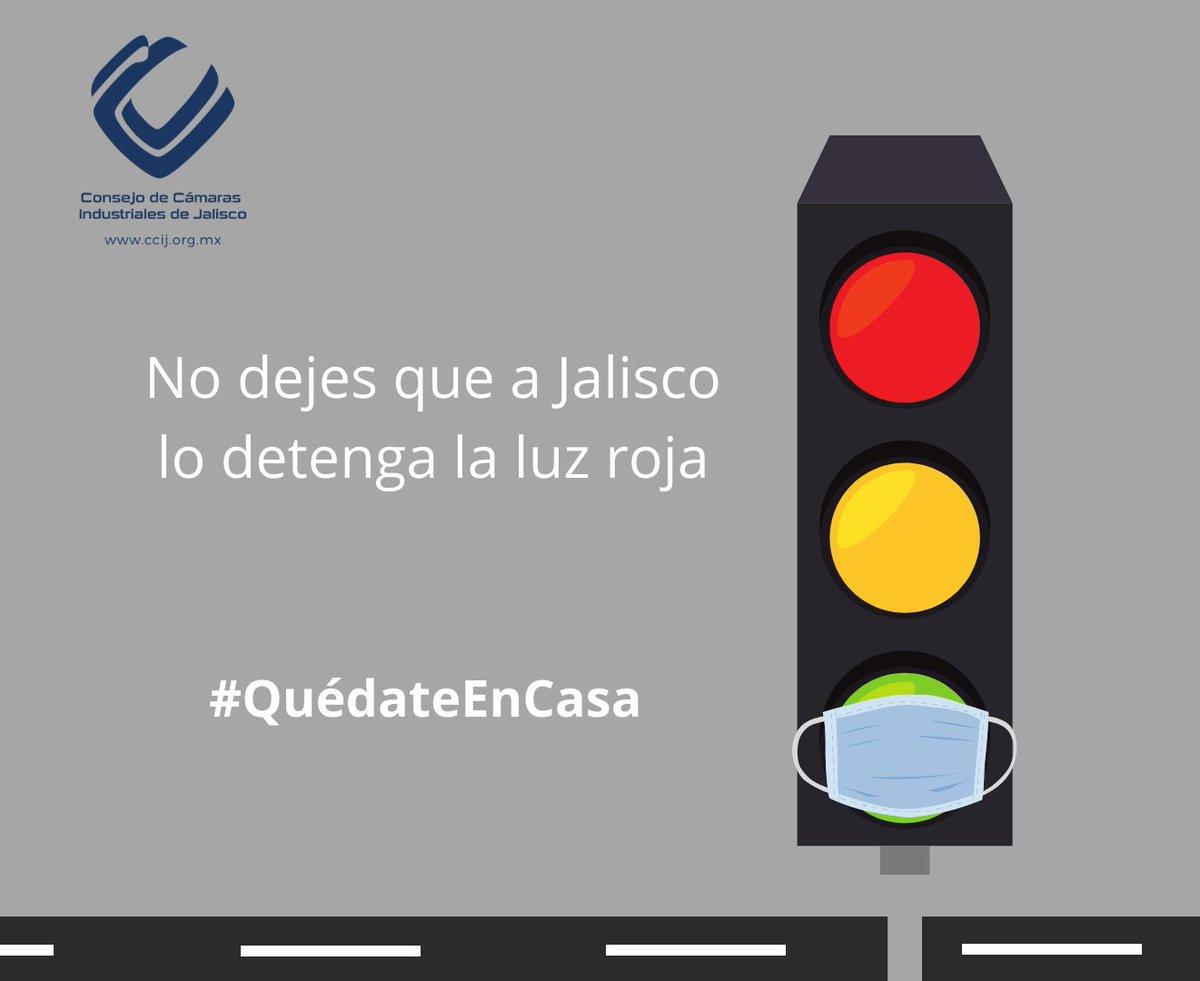 La emergencia sanitaria aún no termina, Jalisco se encuentra en un momento clave. #NoRetrocedamos es tiempo de cumplir con todas las medidas de prevención para evitar el contagio de #COVID19.   #QuédateEnCasa #IndustriaResponsable https://t.co/s8htZ7DO0E