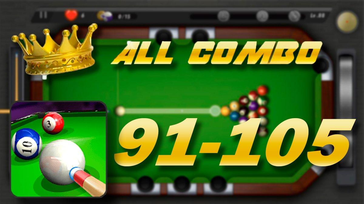 POOKING ▶ 🎱 Billiards City Level 91-105 ALL COMBO | GamePlay  (IOS, ANDR... https://t.co/wHtgzhe5Au a través de @YouTube   #POOKING #pookingcity #pookingbilliardscity #billiardscity #8ballpool #poollivetour #billiards #amazingshots #allcombo #youtube #viral #gamer #gaming https://t.co/Koe01Ei3v1