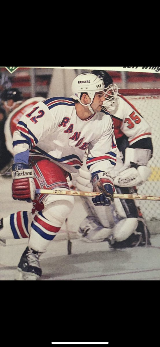 #65 This rugged winger currently works in the NHL Operations Office. #nyrangersfan #nyr #rangers #hockey #nhl https://t.co/Di7FxxZJ4a