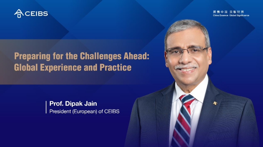 CEIBS President (European) Dipak Jain reminds us that, in times of crisis, human lives + safety should be given the highest priority. Read the full story here https://t.co/nYRfbL7kPN https://t.co/dk5Bd6lmTW