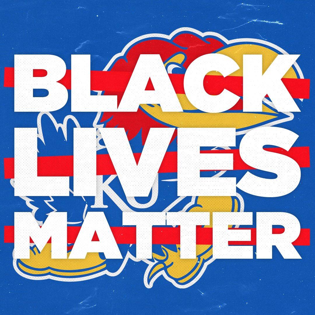 A 𝙢𝙤𝙫𝙚𝙢𝙚𝙣𝙩 // Not a moment   #BlackLivesMatter x #OneTeamKU https://t.co/9wEaERv95h