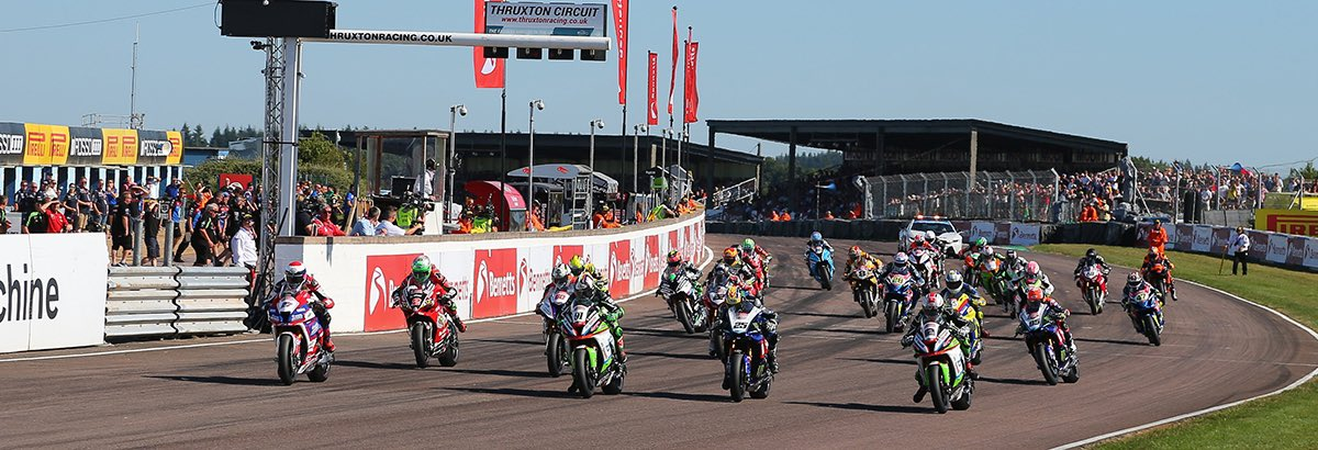 BSB UPDATE: The @OfficialBSB race meeting at Thruxton (7-9 Aug) has been cancelled. BSB have issued a revised 2020 calendar, unfortunately, Thruxton will not feature. However, BSB will return in 2021. Full details available on our website: https://t.co/8Uggt5D0Xx https://t.co/8U7KDQK0aR