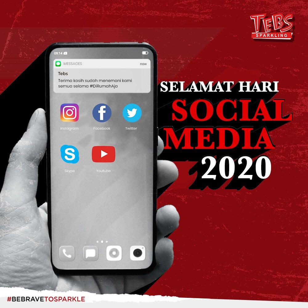 Sosial Media udah jadi salah satu kebutuhan dalam kehidupan kita sehari-hari, banyak manfaat yang bisa kita dapetin dari Sosial Media kalo kita gunainnya untuk hal-hal positif! - https://t.co/ivpFwqcN50