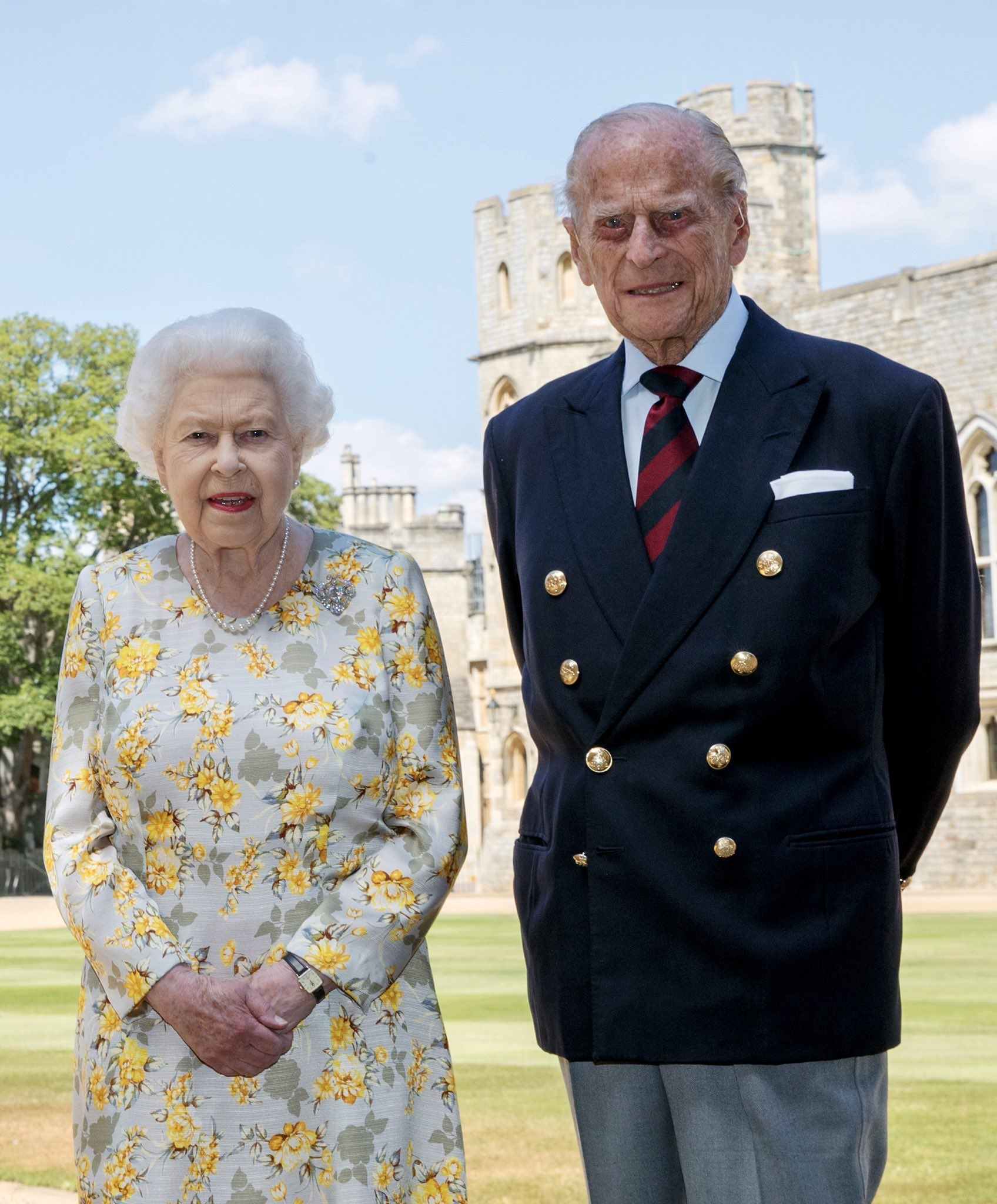 Happy 99th Birthday, Prince Philip! Still going strong.