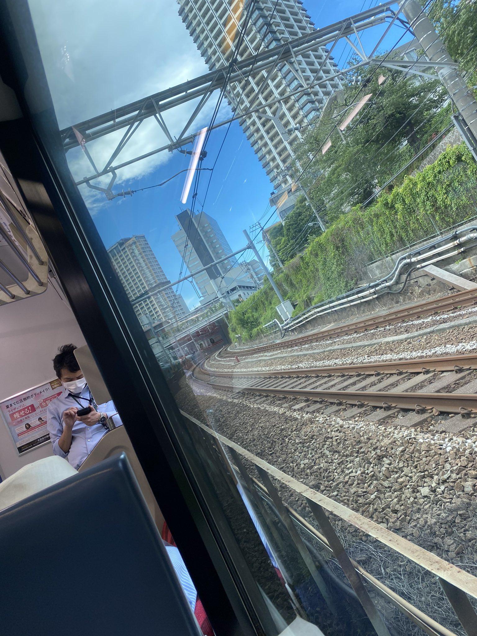 埼京線の大崎駅~恵比寿駅で人身事故が発生した画像
