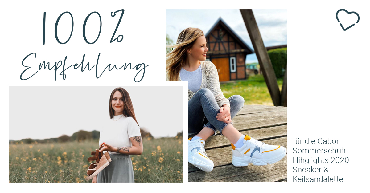[Anzeige] Die Gabor Schuhe 👠 haben 100 Fashionistas überzeugt: 💯% Empfehlung für den Sneaker und die Keilsandalette & 94% für die Pantolette 🤩 Danke shannixo_ & https://t.co/6FKSDHrEtF für die Insta-Posts❤️ Zum Ergebnis 👉🏼 https://t.co/mNYRLKzmpK #gaborfashion #gabormoment https://t.co/REA8Rhd5Dr