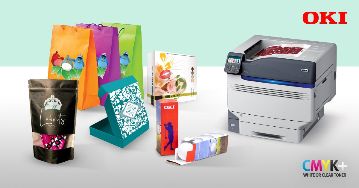 There's been a spike in on-demand packaging printing during #lockdown. OKI's Pro9000 Series 5 colour printers features a one-unit minimum volume and no set-up costs, providing the perfect solution for unique bespoke packaging: https://t.co/fLNCsL6IY1 https://t.co/6x8uzH95fF