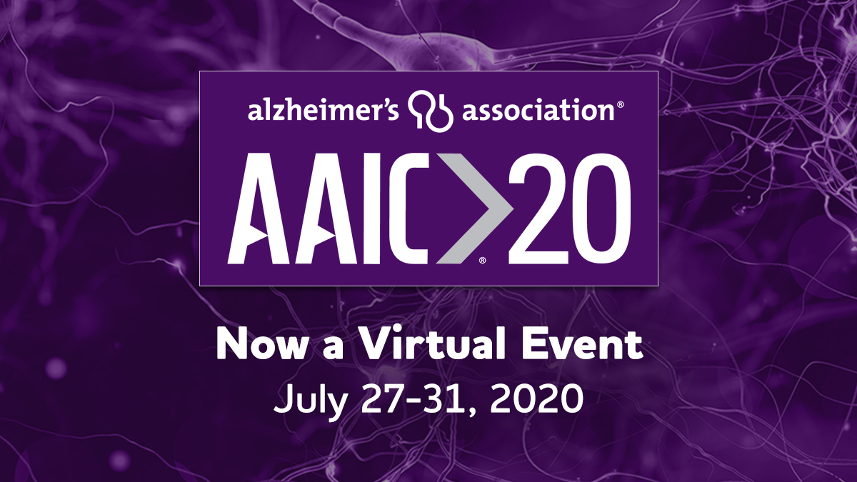 There's still time to register  for #AAIC20! Researchers, join us for this virtual event, free of charge. Don't miss the largest global forum to advance dementia science. Register today at https://t.co/mpuJl7lhdL. https://t.co/Bfe5TzXotE