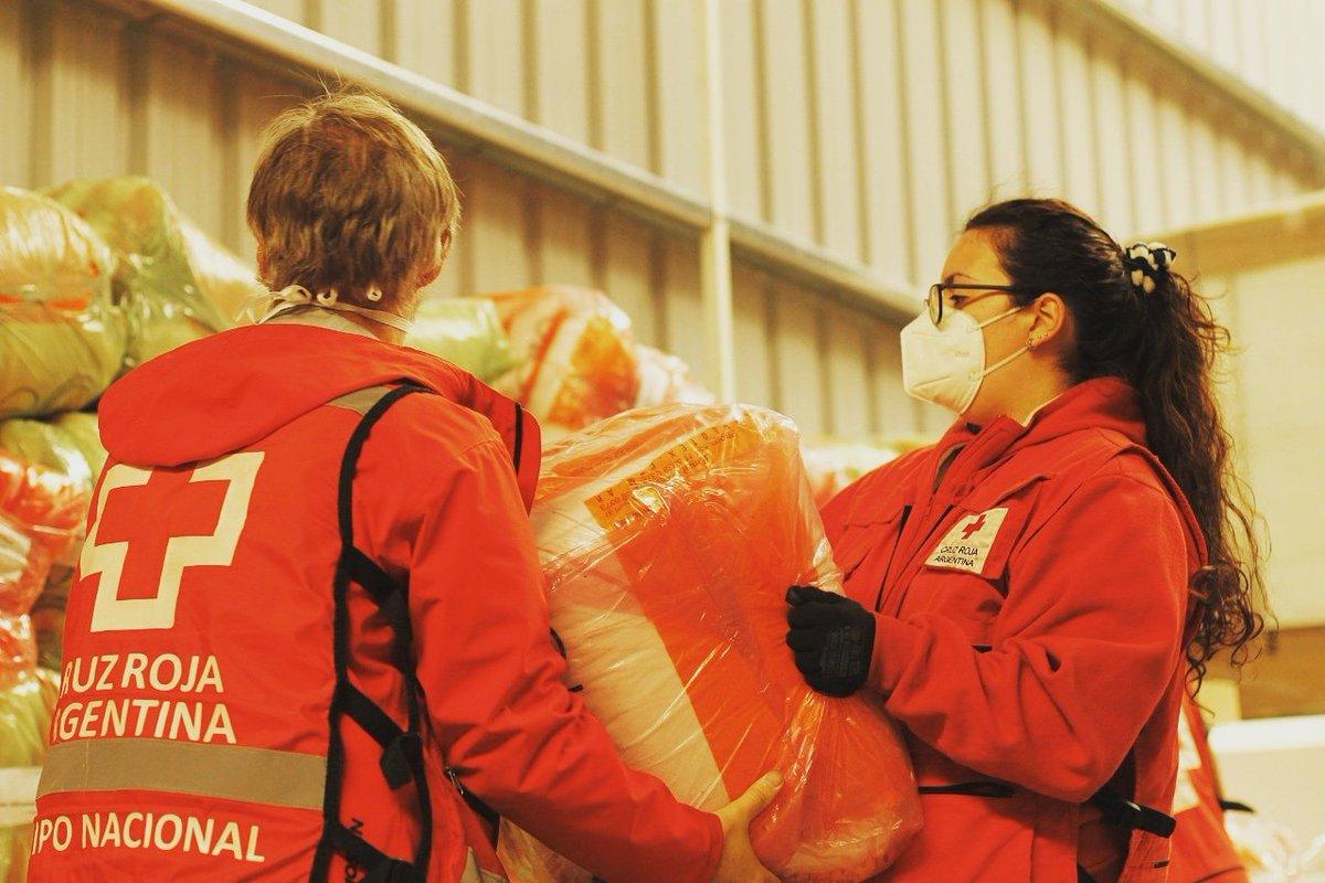 Hoy se cumplen 140 años de la creación de la Cruz Roja en Argentina y queremos destacar su gran labor y compromiso con quienes más lo necesitan. En el contexto actual celebramos el trabajo realizado en el Parque Sanitario Tecnópolis. https://t.co/G0C0wGu1bg