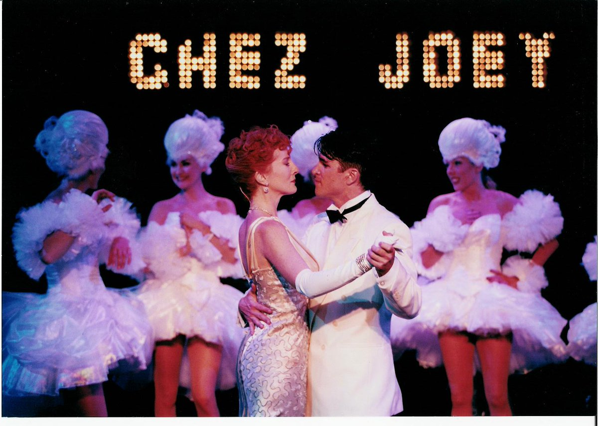 The Minerva's 2000 season included the Rodgers & Hart musical Pal Joey. Directed by @lovedayingram and with a cast including Susannah Fellows & Martin Crewes, the choreography was by a certain @CraigRevHorwood 📸 Tristram Kenton #LoveCFT
