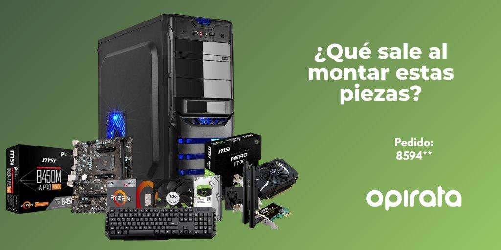 En @Opirata_com configura tu nuevo PC https://bit.ly/2YiyJx3 #pcbuilding #pcbuilder #ultrapcbuilds #gamingpcbuilds #gamersetup #pcgamergirl #pcgamerlife #pcgamershop #extremepc #dreampc #gamingpcs #3droom #gamingroomsetup #gamingsetupadvicepic.twitter.com/lLuaGM9Fm7