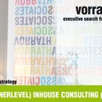 Image for the Tweet beginning: DIRECTOR (PARTNERLEVEL) INHOUSE CONSULTING (w/m/x)
