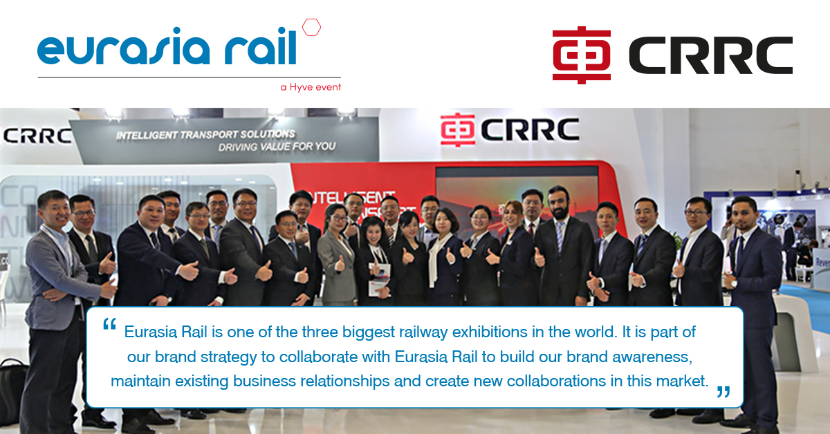 Before #EurasiaRail2021, we asked Alice Sheng, CRRC's Brand Marketing Manager, to tell us why Eurasia Rail is a part of CRRC's brand strategy and her opinion with regard to trade shows in the post-Covid-19 era. #Interview➡️ https://t.co/gYRuix9Lxt #railway #technology https://t.co/lt7tKp4H8a