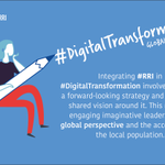 Image for the Tweet beginning: Integrating #RRI in #DigitalTransformation involves