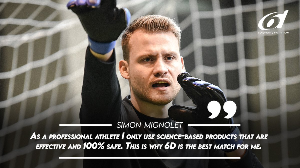 We're proud to announce that @SMignolet is a 6d Sports Nutrition user and ambassador! 😍🧤 #6dSportsNutrition #InspiredByAthletesDrivenByScience https://t.co/AE2b5gPUWq