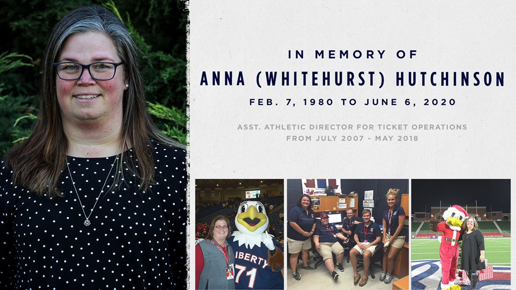 Our hearts are heavy over the sudden passing of former Asst. AD for Ticket Ops, Anna Hutchinson.  Anna inspired many people and showed kindness to all. She was a friend to anyone around and always knew how to make people laugh, no matter what.   She is already greatly missed. https://t.co/ToIKMwt2UY