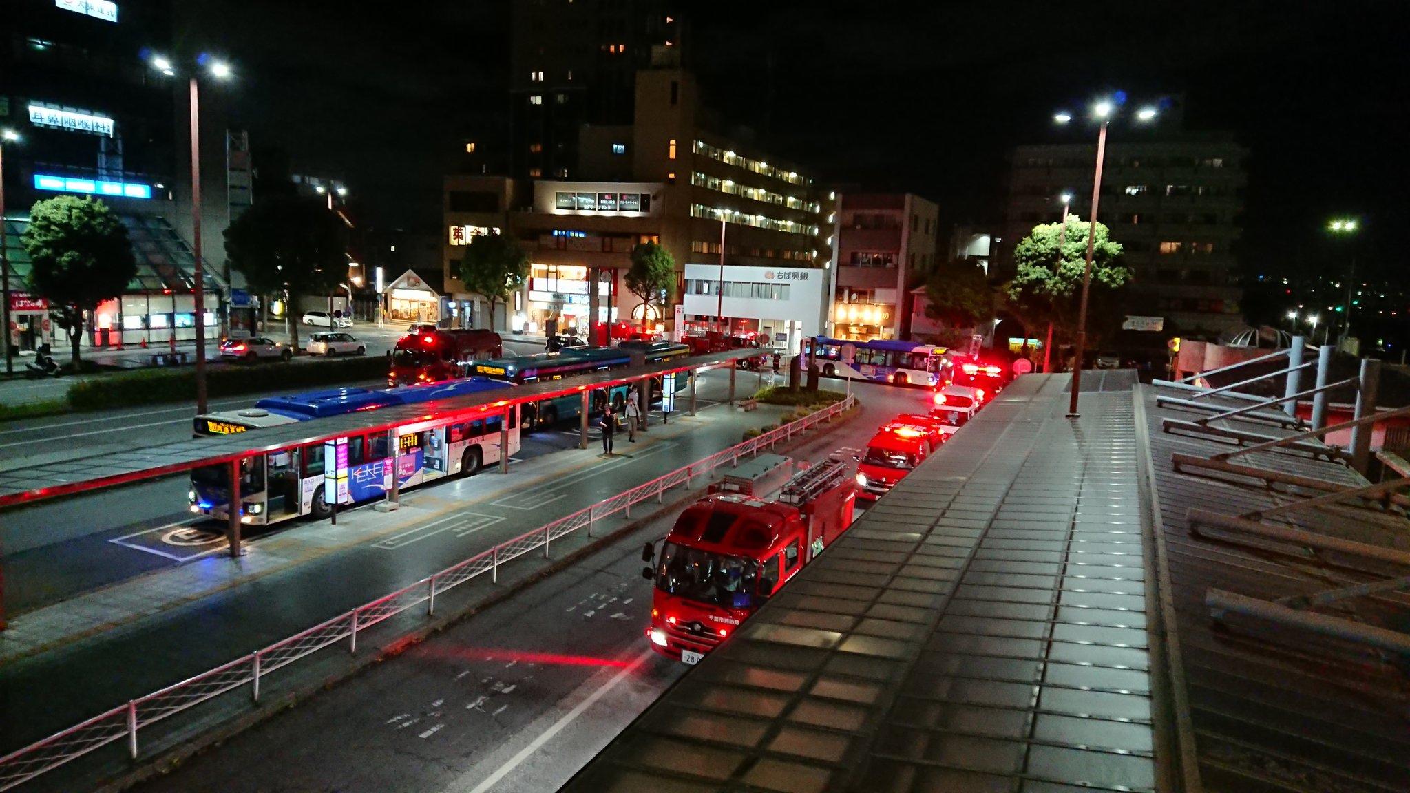 京成千葉線で人身事故が発生した現場画像