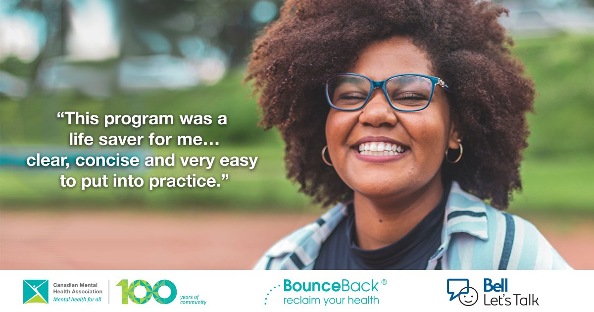 As #COVID19 increases the demand for #mentalhealth supports, #BellLetsTalk is proud to announce a $1M donation to @CMHA_NTL to expand BounceBack nationwide. BounceBack is a free, guided self-help program delivered remotely to people ages 15+. Learn more: https://t.co/C7WMnuhkcf https://t.co/KCU9rlxWQw