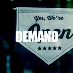 Image for the Tweet beginning: Demand - With our Demand