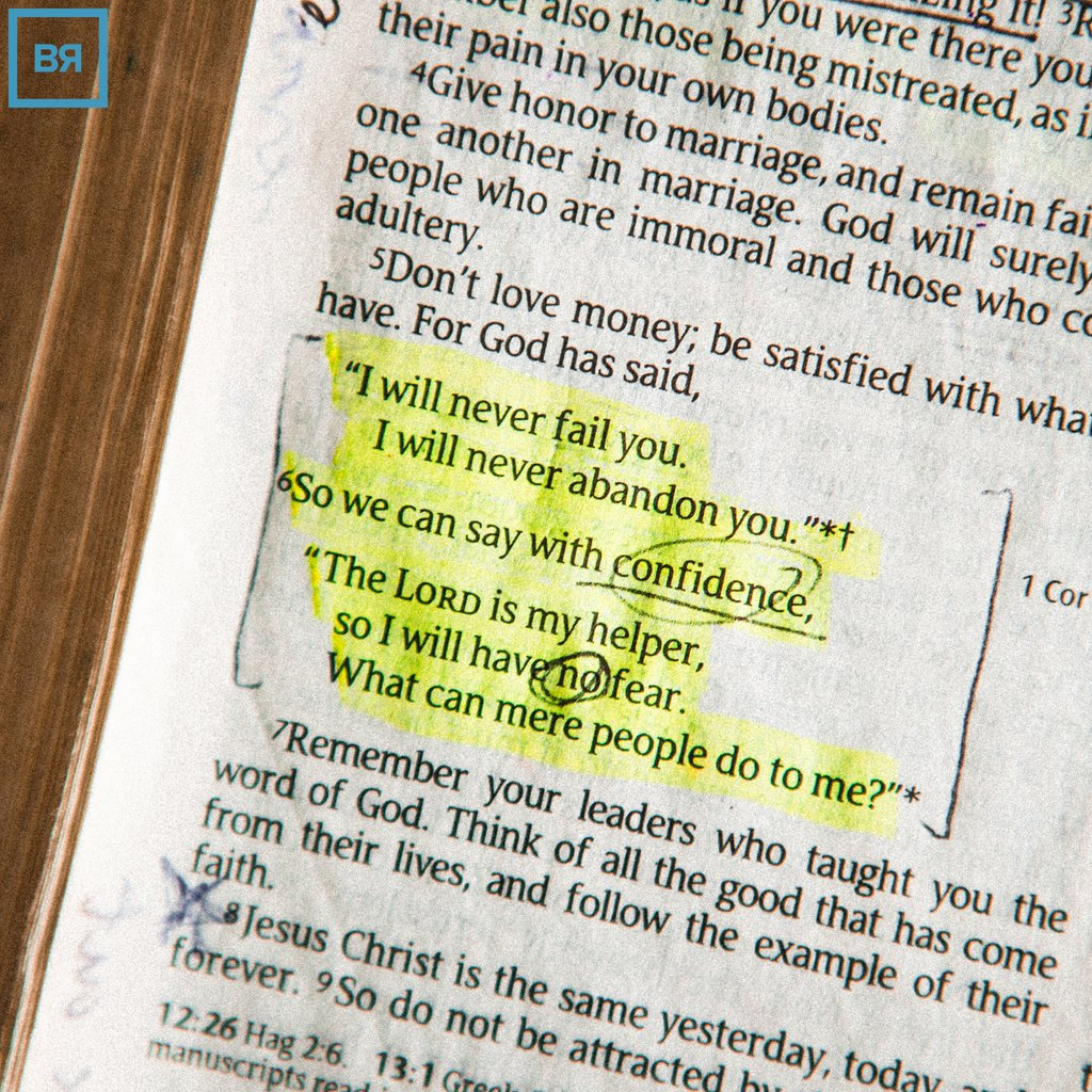 These are The Lord's Words towards you!   Go out with confidence - your Father is King of the universe.  #church #bridgefcraleigh #lovegodloveothers #godisincontrol #hesgotthewholeworldinhishands https://t.co/5PgxAeXLnW