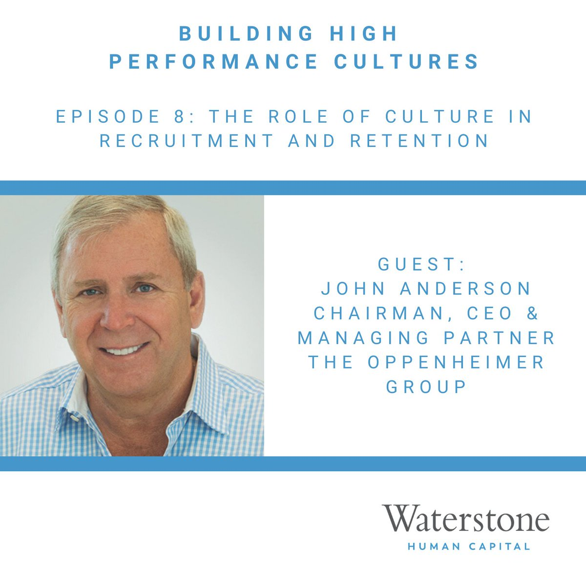 For episode 8 of Building High Performance Cultures, we talk with John Anderson of @OppyProduce about the role that culture plays in a company's recruitment and retention strategy.  Listen at https://t.co/G0J9lbazv0 #leadership #corporateculture #recruitment https://t.co/u6hOcMwkIA