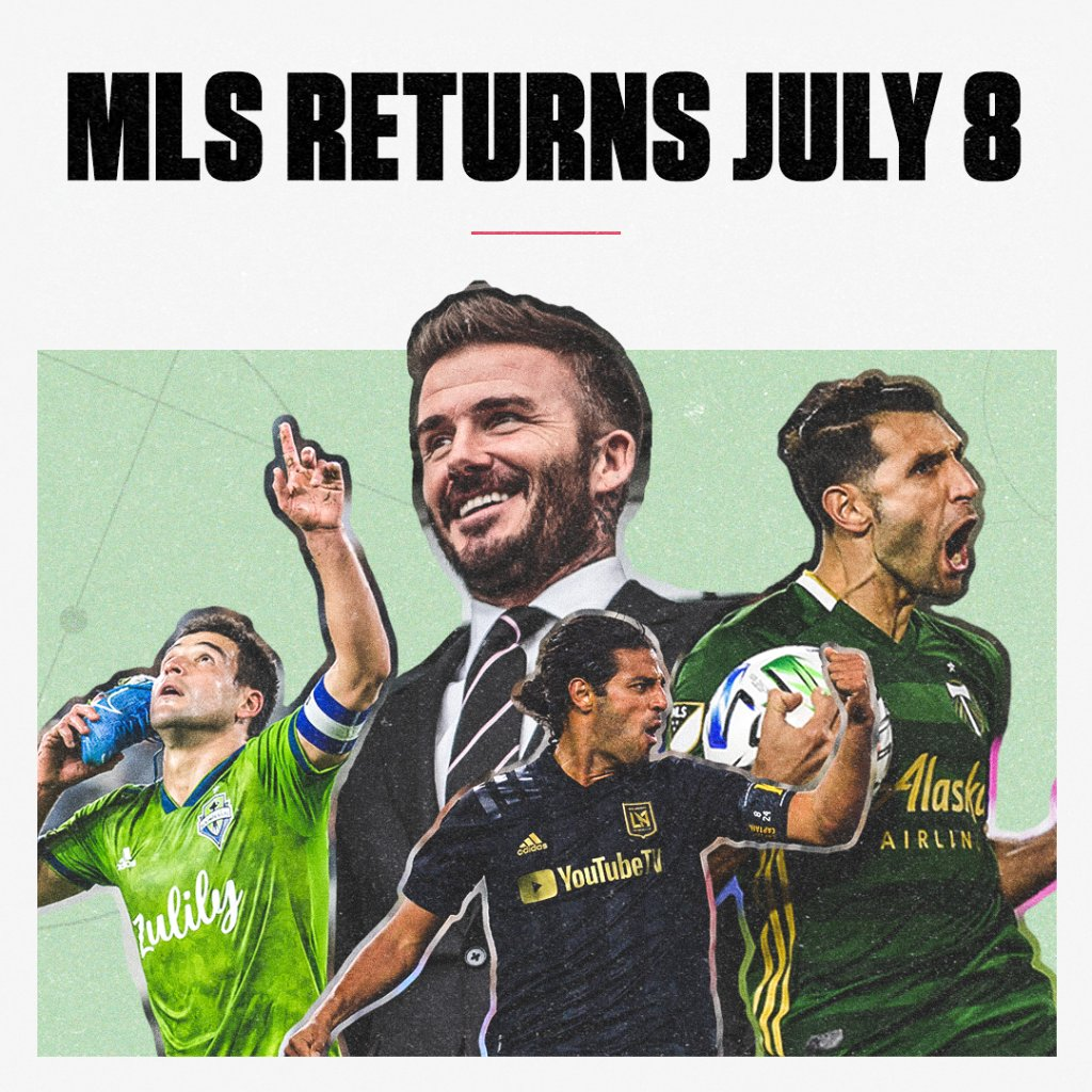 MLS is Back Tournament:  • July 8-Aug. 11 • Group stage matches count in regular season standings • Tournament winner earns a spot in CONCACAF Champions League • MLS plans to continue with a modified regular season once the tournament is over  https://t.co/uorpLRhcDn https://t.co/LQqEYdX9j7