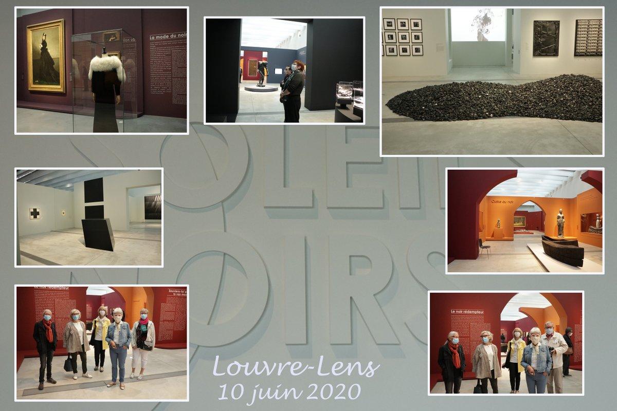 Nous y étions!!!! ce matin à l'ouverture de l'exposition #SoleilsNoirs dans notre cher @MuseeLouvreLens Un moment d'émotion tant attendu!! Merci #louvrelens