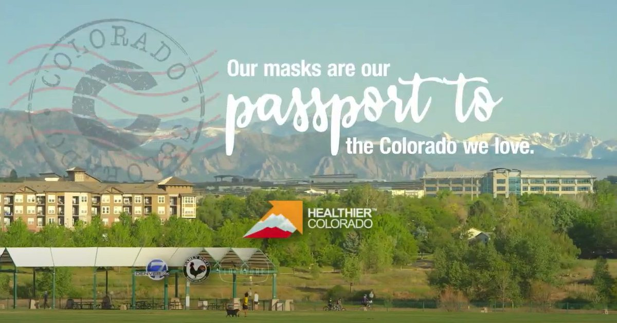 test Twitter Media - The government of Colorado has released a new PSA, emphasizing the importance of wearing a mask in public to keeping the state safe during the middle stages of the pandemic. Give it a watch, and share far and wide, please! #cohealth #covid19colorado https://t.co/4lZrsY1pBb https://t.co/wnR5FBOGt5