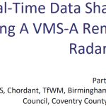 Image for the Tweet beginning: Use of portable VMS displays