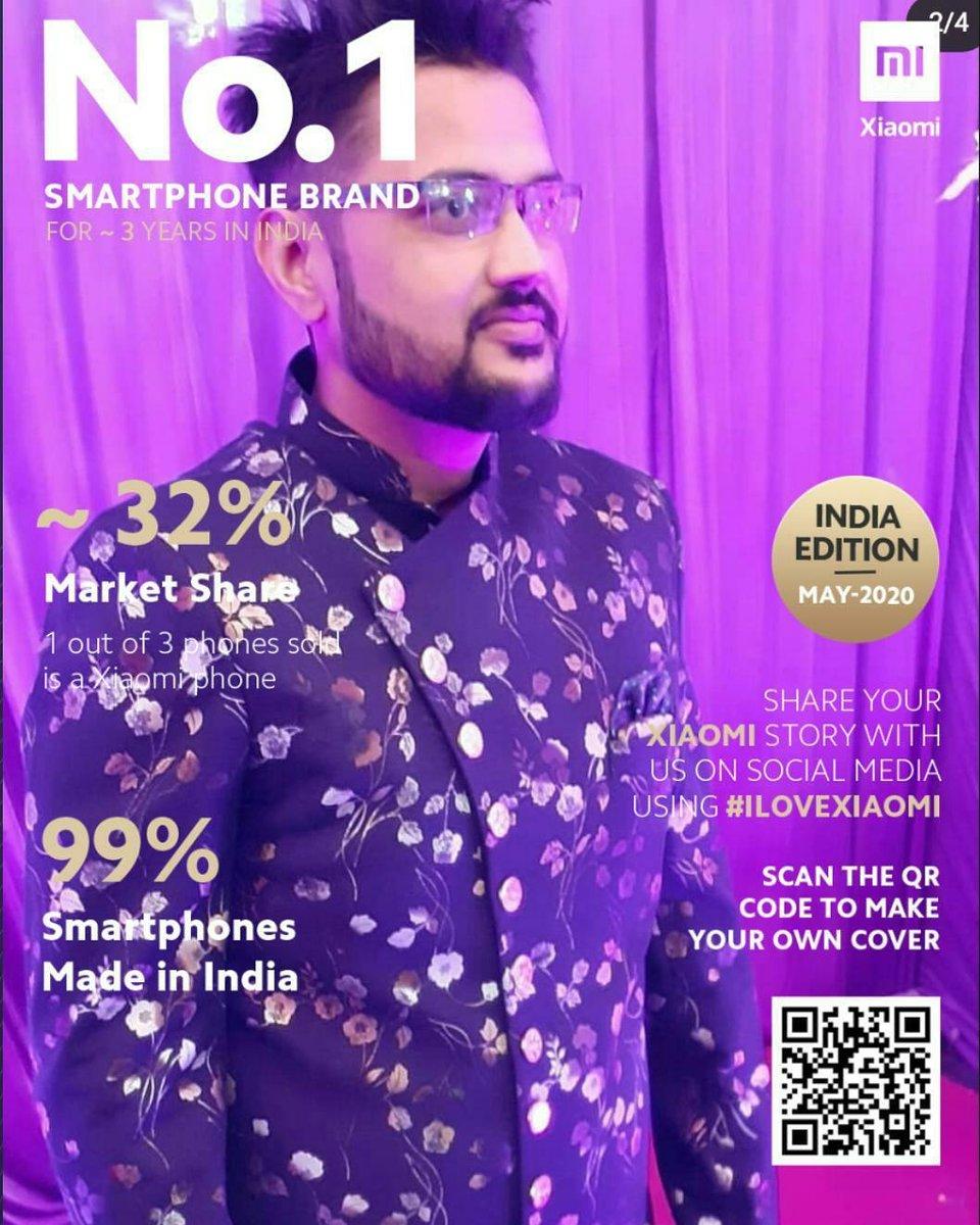 Here my entry for Brand Magazine cover challenge   #MagazineCoverChallenge  #1BrandXiaomi #ILoveXiaomi   Join in friends   @PayalBanerjee06  @Sakshi_DiVa_  @LinaKJ2019  @snow_man_14  @BhavikaRajaswanpic.twitter.com/wIJ74fYGG0