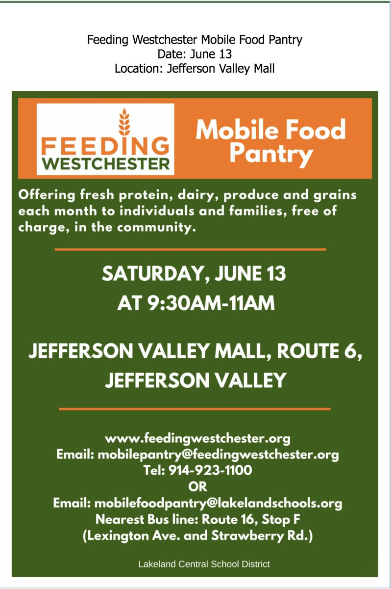Saturday, June 13 ~ Please share with friends and neighbors. #community @jluft1 @44natalie @PVAthletics1 https://t.co/746EQbyyNS