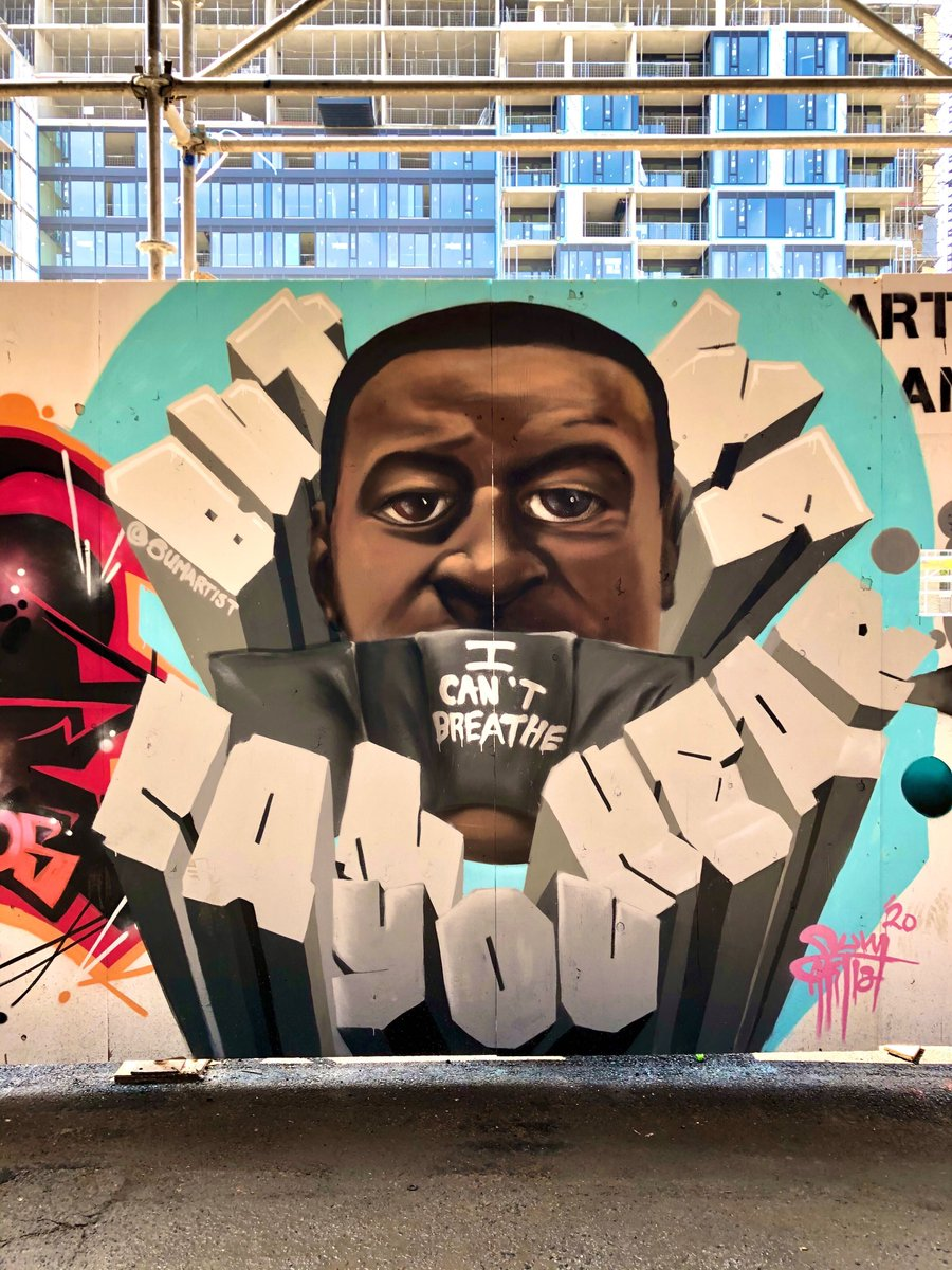 Graffiti Alley in Toronto has been transformed into a tribute to Black Lives Matter https://t.co/dwlvGqQ3TW #Toronto #GraffitiAlley #BlackLivesMatter #BLM - 📸 Ryan Bolton https://t.co/j9IxXEB0e5