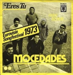 """#Blokken op @VRT 🇧🇪  """"Eres tú"""" 🇪🇸 #Spanje (1973)   Het échte Eurovisie Songfestival.   https://t.co/czEZY9UyF4   #Eurovisie #Songfestival https://t.co/Z9UAqQTFoj"""