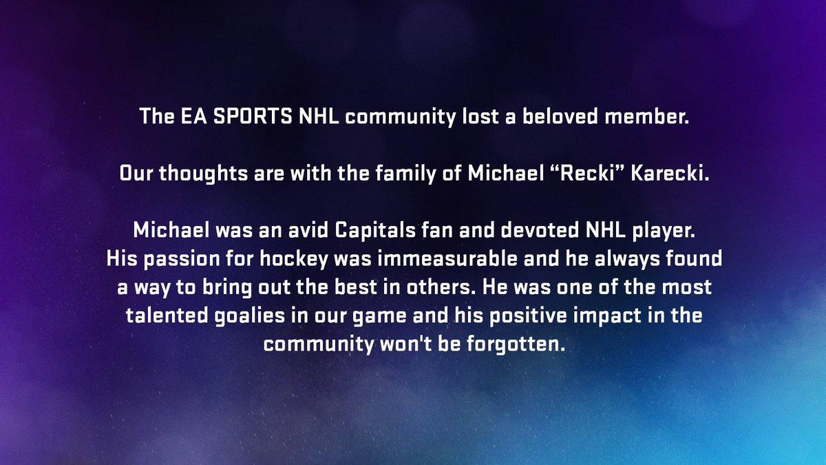 EA SPORTS NHL (@EASPORTSNHL) on Twitter photo 10/06/2020 17:38:42