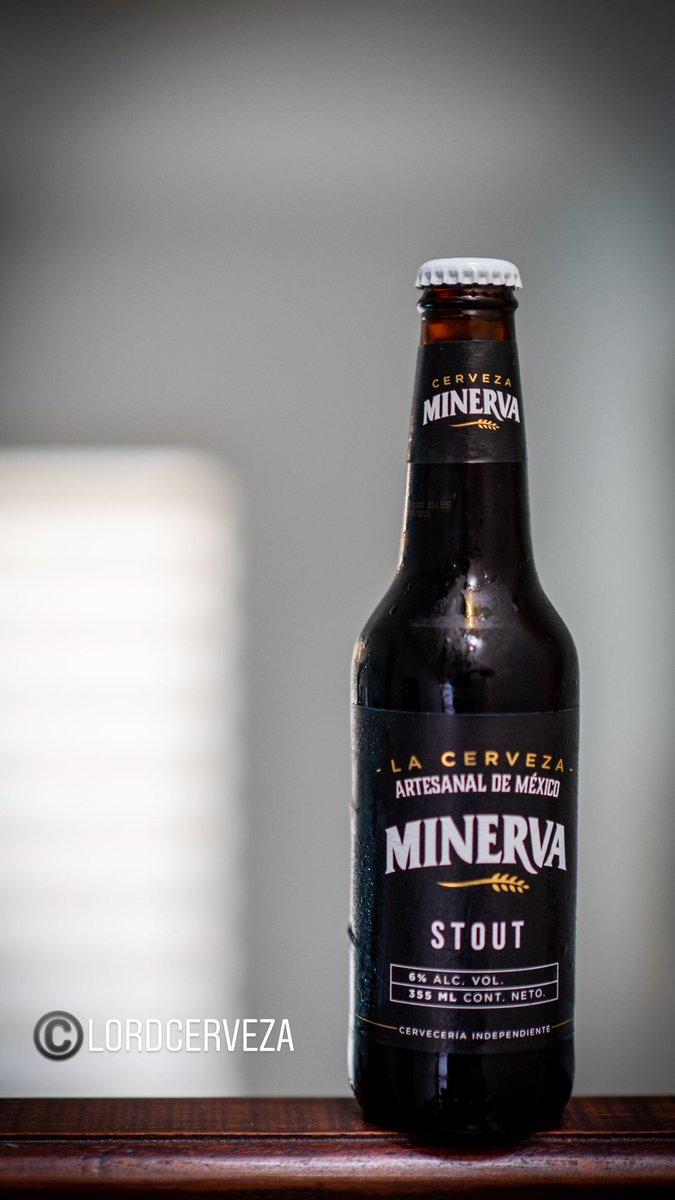 Hoy nos vamos con esta rica cerveza artesanal mexicana   🍺 Minerva Stout 🏷 Stout 🥴 6% Alc. Vol. 💧 355ml 📍 Zapopan, Jalisco, MX.  💸 $34 mxn aprox. c/u ©LordCerveza . . #beer #cerveza #stout #minerva #MinervaStout #mx #lordcerveza #Jalisco https://t.co/QaqEIYUDyE
