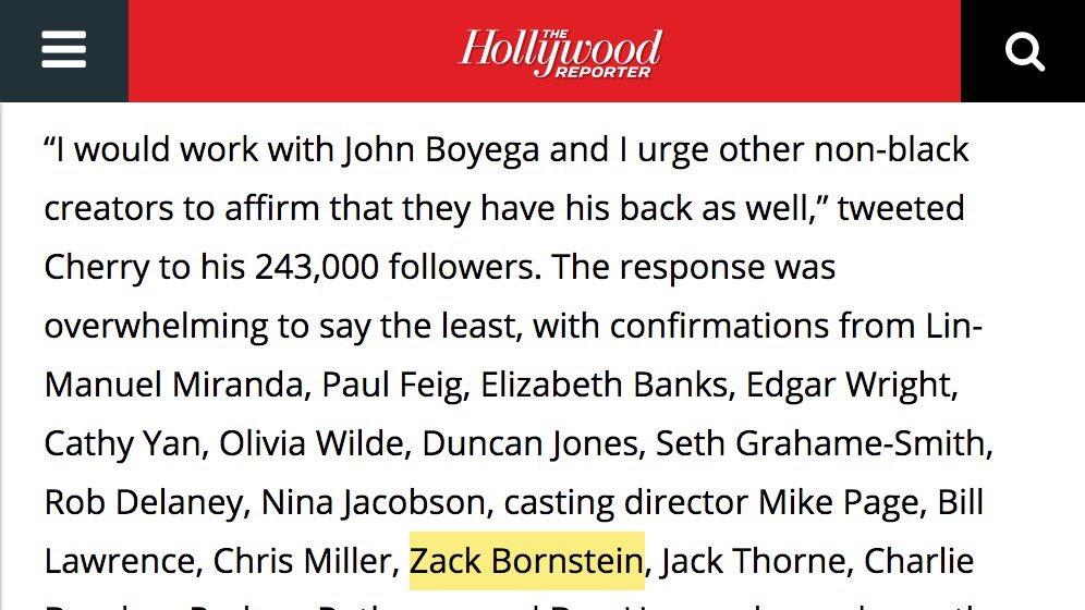 I cannot hide any longer: I would work with movie star John Boyega https://t.co/vncKovsBYj