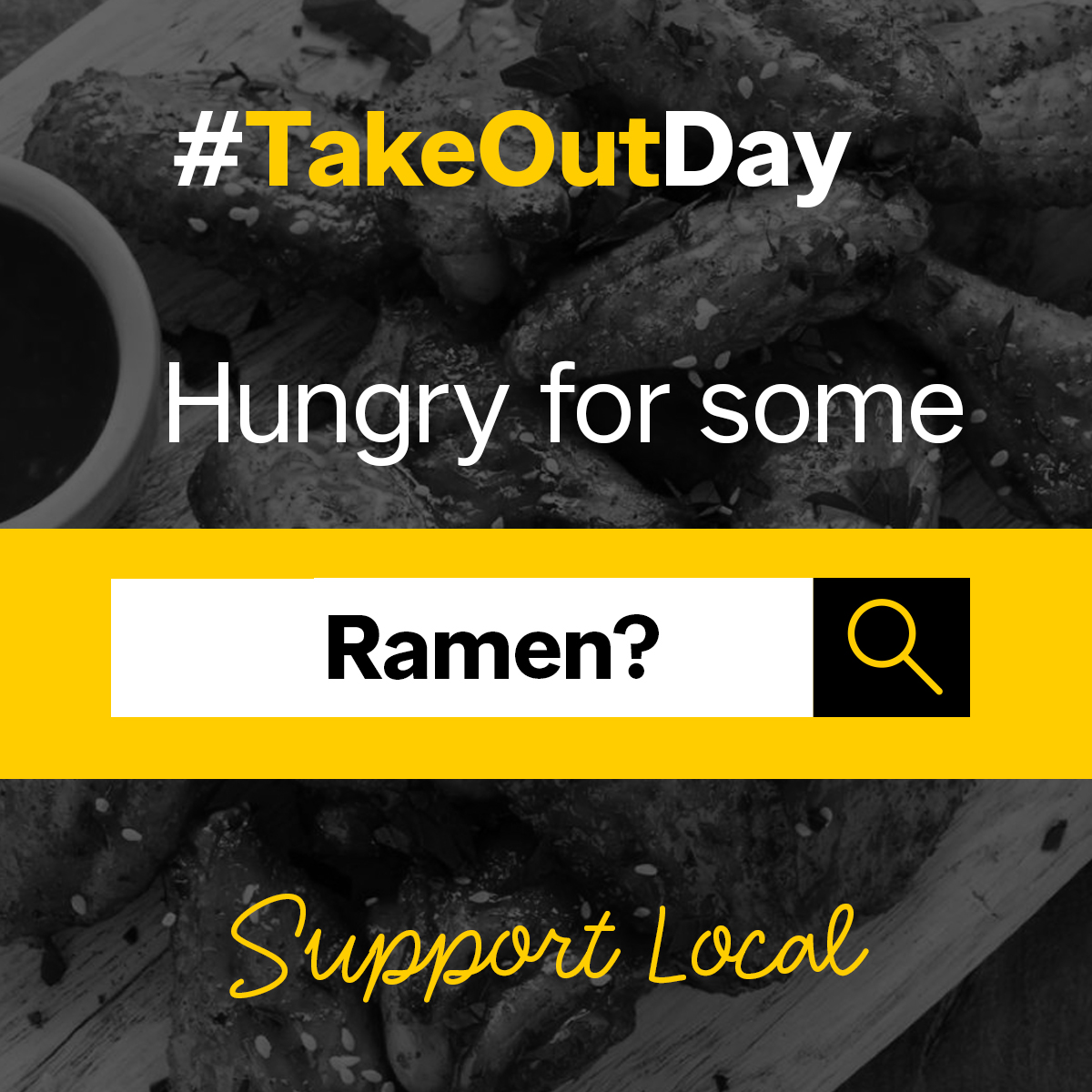 Support your local Ramen spots by ordering a big bowl of noodles and enjoying all the rich flavours right from the comfort of your home with #TakeOutDay!   ----> https://t.co/0tWMlJwCpb https://t.co/CnQt2RajrL