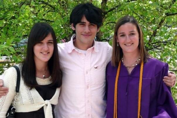 Ms. Bye at her college graduation, with her sister and brother, and grad school graduation (both from JMU, exactly 1 year apart). Congrats on your promotion 5th graders! <a target='_blank' href='http://search.twitter.com/search?q=hfbtweets'><a target='_blank' href='https://twitter.com/hashtag/hfbtweets?src=hash'>#hfbtweets</a></a> <a target='_blank' href='http://search.twitter.com/search?q=HFBTogether'><a target='_blank' href='https://twitter.com/hashtag/HFBTogether?src=hash'>#HFBTogether</a></a> <a target='_blank' href='https://t.co/tsMiz93YaQ'>https://t.co/tsMiz93YaQ</a>