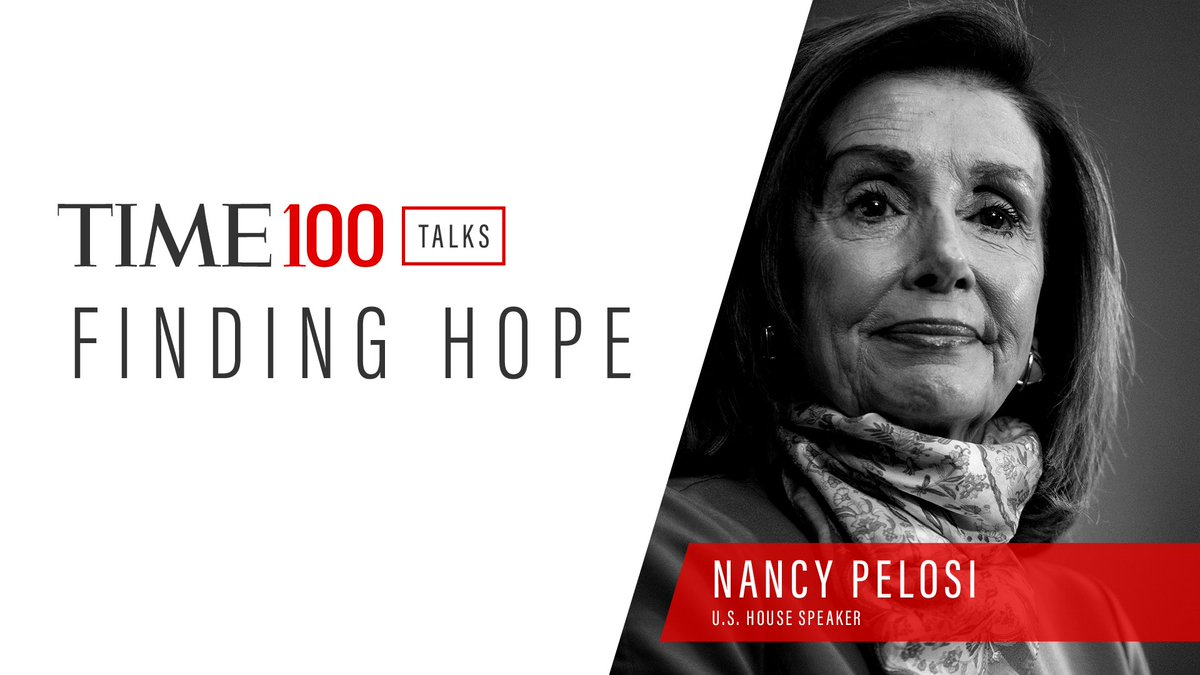 Tune in tomorrow for my conversation with @TIME's Molly Ball about what lies ahead for Congress and finding hope in these troubling times. #TIME100Talks https://t.co/4xRW6X8ysB https://t.co/tGJXhpZUIM