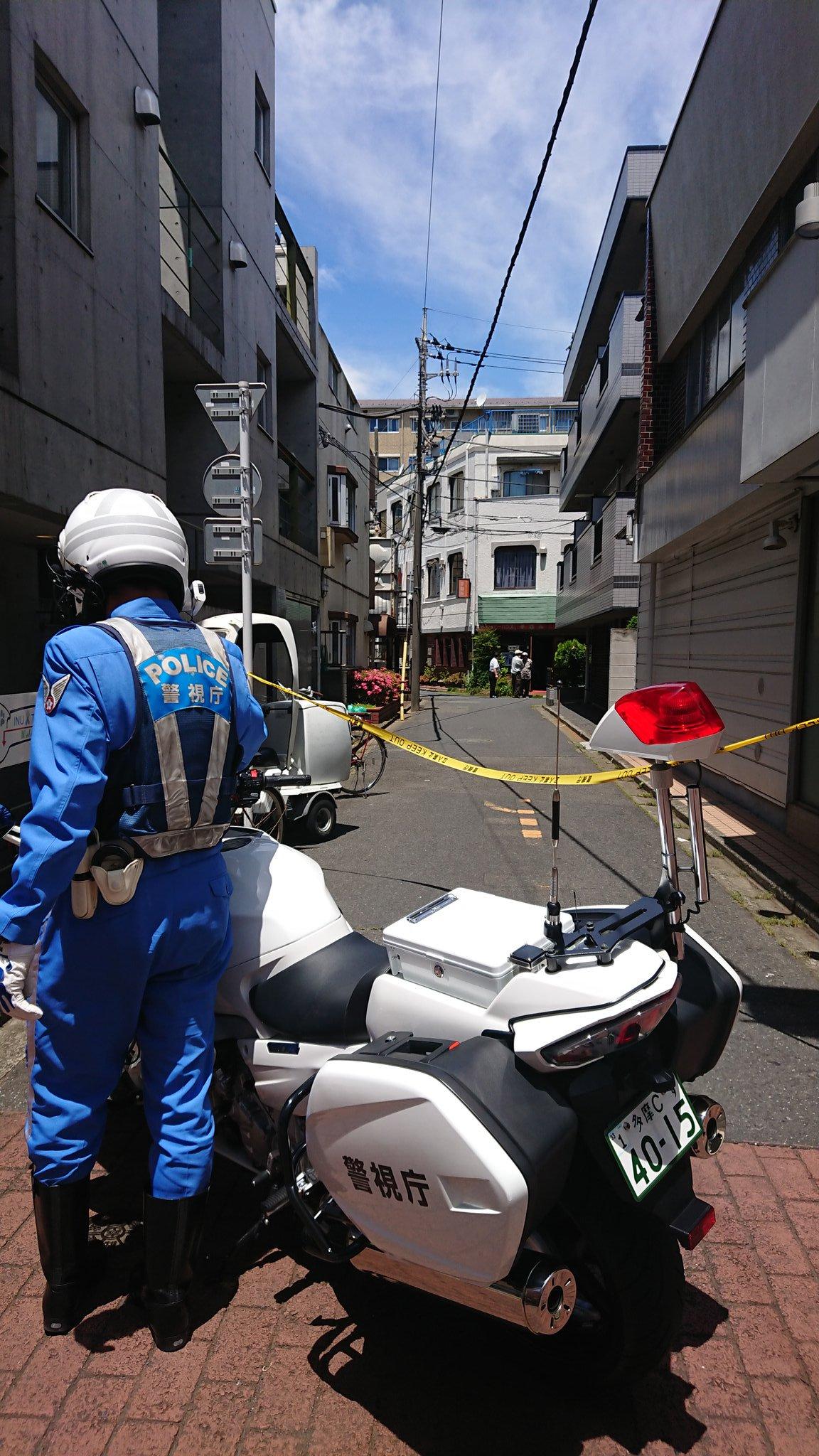 清瀬市松山の殺人未遂事件の現場画像