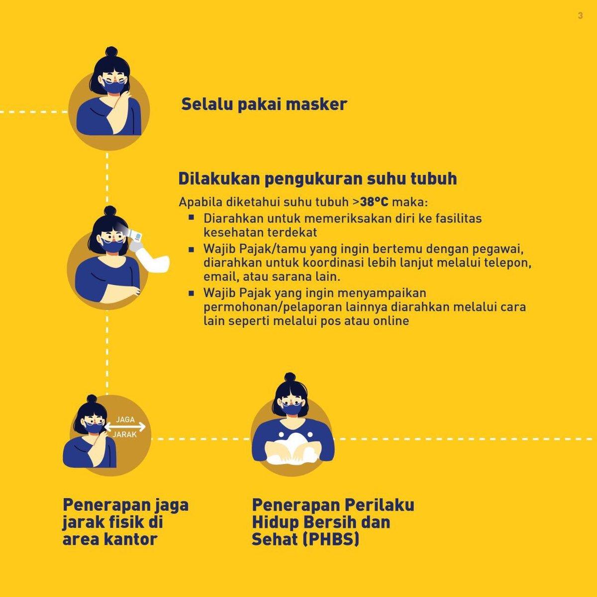 Kpp Pratama Jakarta Kebayoran Lama On Twitter Berikut Prosedur Pelayanan Tatap Muka Dalam Kenormalan Baru