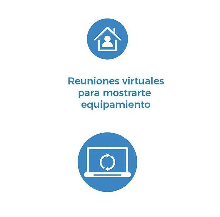 Sabias que podes mantener una reunión virtual con alguien de nuestro equipo? ✍️coordinamos día y hora 🧠nos contas las dudas  🗣 Te asesoramos 💪Podes comprar online! #BuenMiercoles #Bioseguridad #Odontología #envios#compraonline https://t.co/1NjaCuZrml