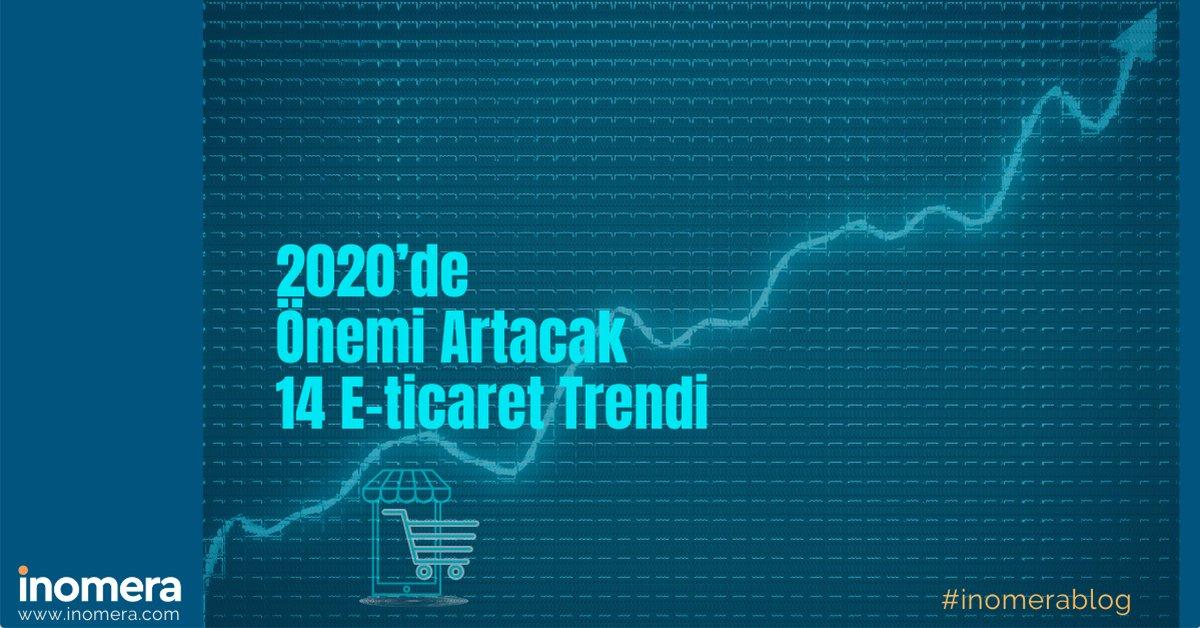 E-ticaret dünyasında yeni normal ile artan dijital rekabet hangi trendleri takip etmeyi gerektiriyor?  2020 e-ticaret trendleri blogumuzda! 👉https://t.co/upiAYTiuVq   #eticaret #blog #inomera #ecommerce https://t.co/5ILhyQ9mfb