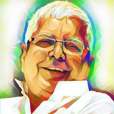 Happy Birthday Bihar King Maker.. Shree Lalu Prasad Yadav Ji.. God Bless You Sir..